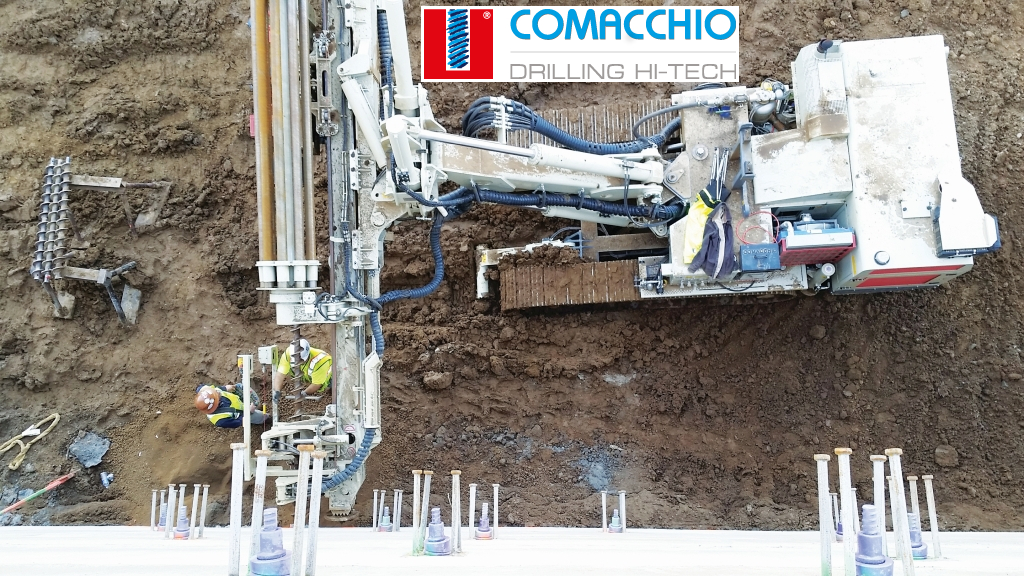 Lesanco ApS forhandler af Comacchio boremaskiner