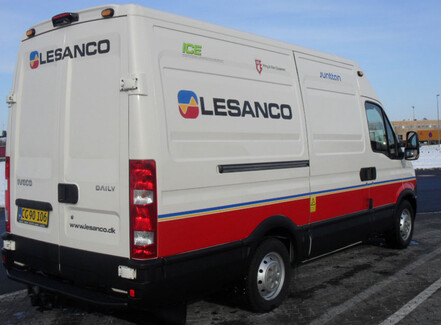 Lesanco har ansat egen servicemontør