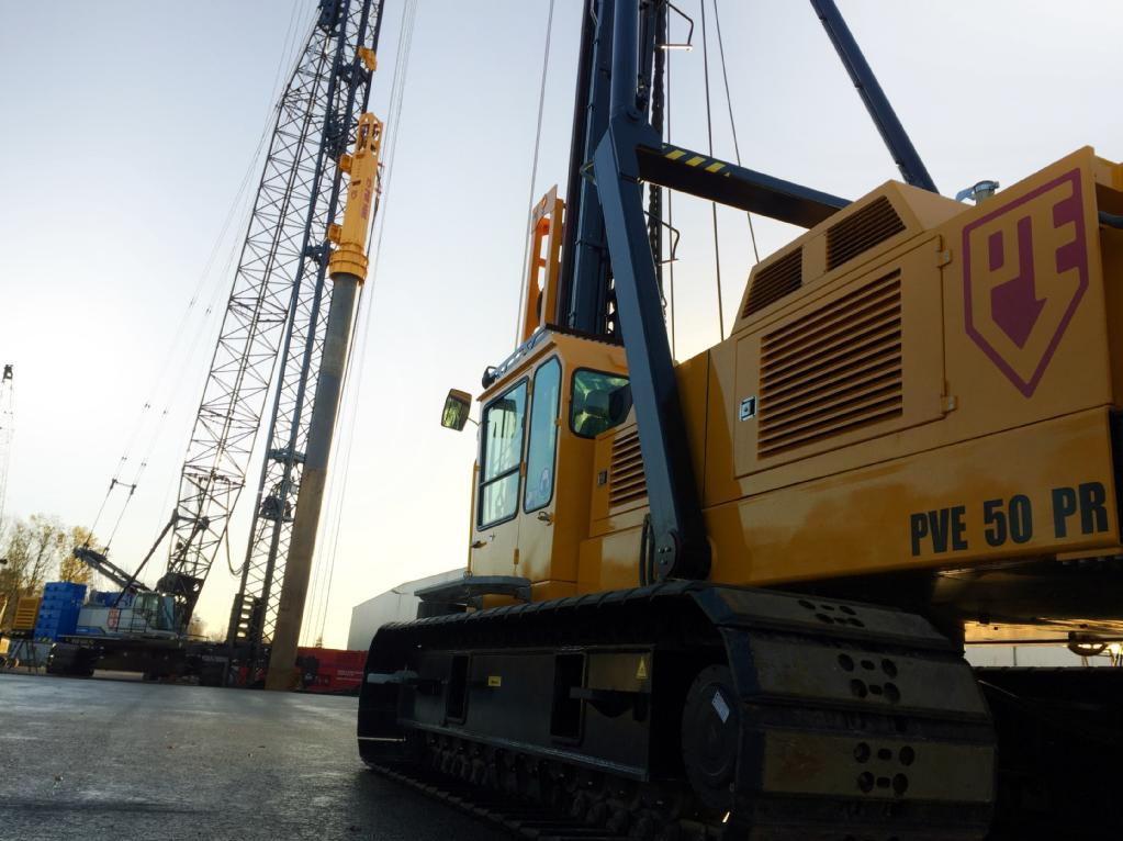 Woltman Piling Rig 50PR 2